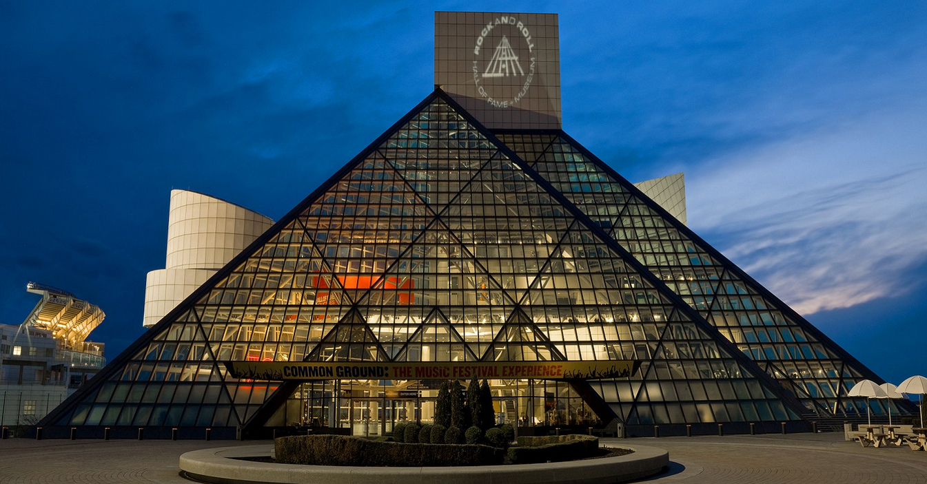 Cleveland rock and roll hall of Fame Wedding Venue