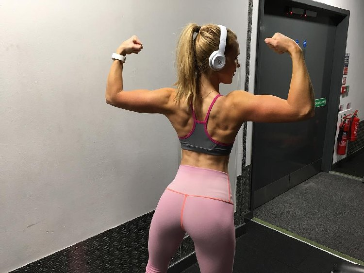 Fitness Model Lauren Tickner