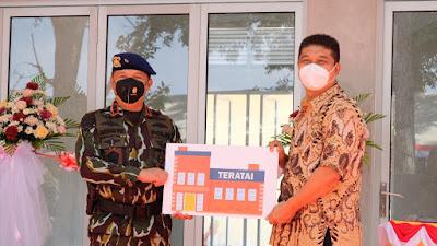 Gunakan Untuk Mengasah Kemampuan Personil Dan Jangan Tinggalkan Rakyat Walau Sejenak, Pesan  Kapolda Riau Saat Resmikan Gedung Teratai Sat Brimob.