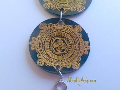 Amazigh Inspired Shrinky Dink Bracelet Tutorial A Crafty
