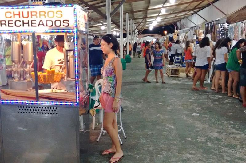 Feirinha de Artesanato em Tambaú, João Pessoa