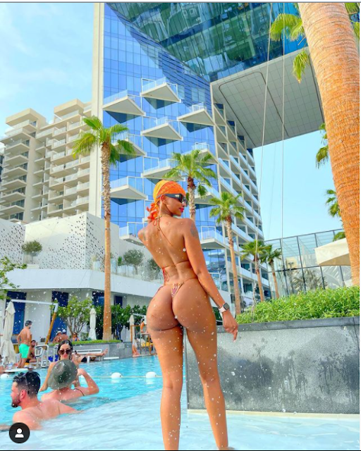 Lord Fill me with your Holy spirit, Give me spiritual eyes to see- Huddah Monroe goes spiritual as she flaunts her body (Photos)