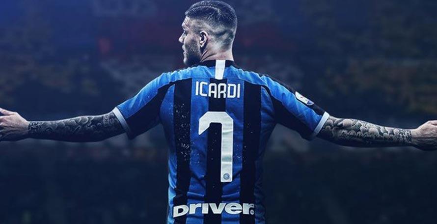 best website cdd04 25fbd Official: Icardi Gets #7 Shirt - But Doesn't Make Inter ...