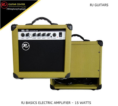 RJ Guitars Basics Electric Amplifier - 15 Watts