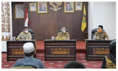 Sekdaprov Lampung Terima Audiensi Buruh FSPMI