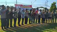 Gelar panggung sinergitas, TNI-POLRI di Tegal tegaskan tetap solid menjaga NKRI