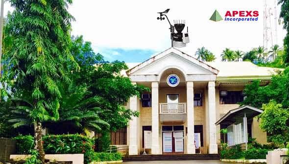 APEXS: 2011, LGU Lanuza Surigao Del Sur Installation of Automated Weather Station (AWS)
