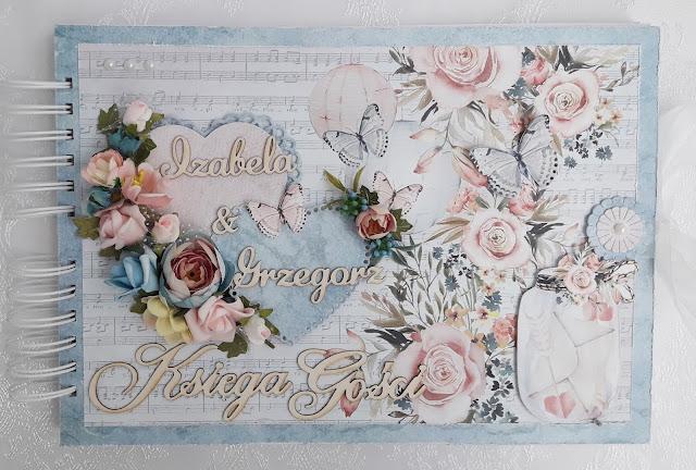 Ślubnie w błękitach