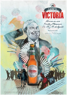 Cartel feria Cerveza Victoria