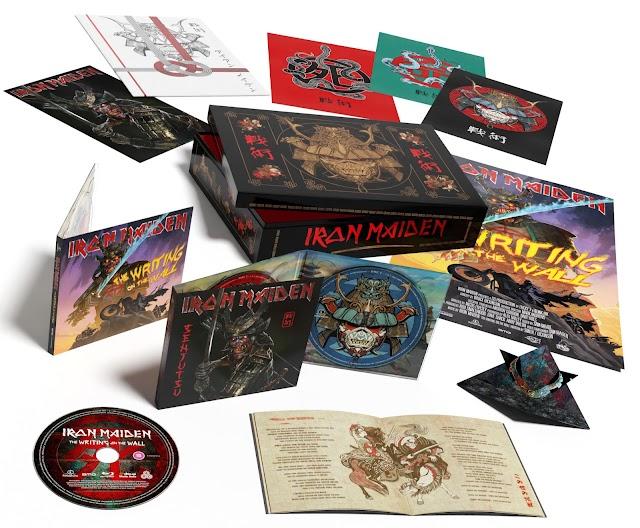 Senjutsu: Confira detalhes do boxset especial, Blu-ray, CD duplo e Vinil triplo