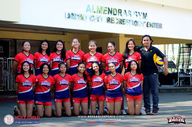 Lady Red Eagles Debut VLeague