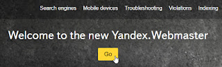 Cara Mendaftarkan Blog ke Yandex Webmaster Tools