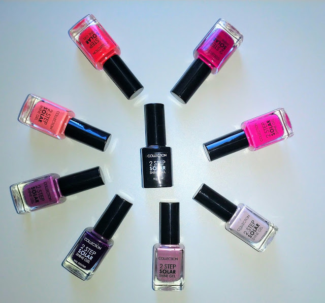 Collection Two Step Solar Shine Gel Nail Polish