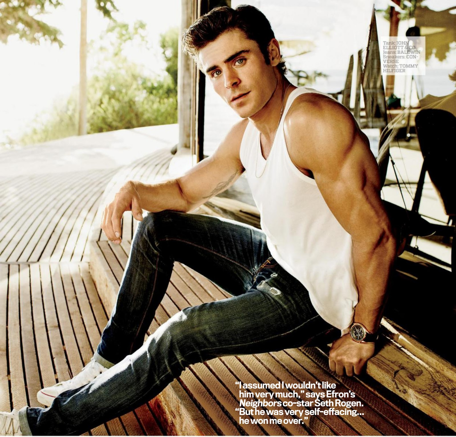 Zac Efron Nude Photoshoot 85