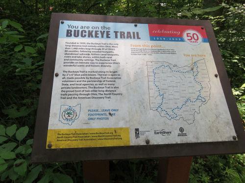 Buckeye Trail Map