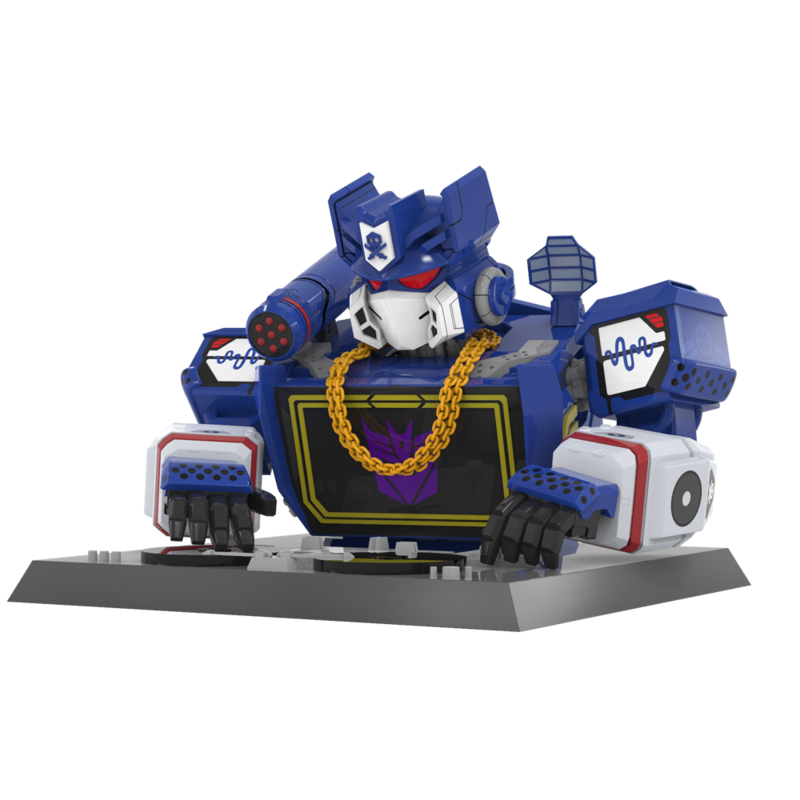 The Blot Says Transformers Soundwave Vinyl Bust By Quiccs X Mighty Jaxx X Hasbro