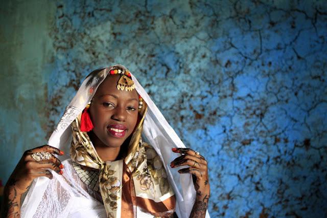 فستان الزفاف في النوبة بمصر