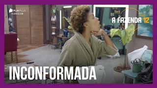 """A Fazenda 12 – Lidi critica divisão de tarefas – """"Eu tô surtando"""", dispara Lidi sobre Jojo"""