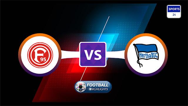Fortuna Düsseldorf vs Hertha BSC – Highlights