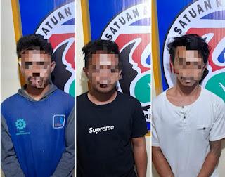 Polres Sinjai Kembali Tangkap Tiga Pelaku Kasus Pengguna Narkoba