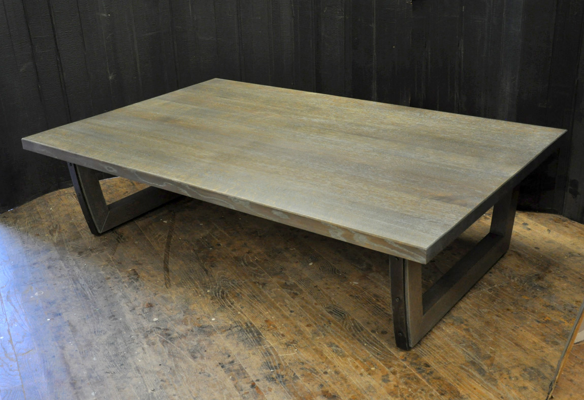 Dorset custom furniture a woodworkers photo journal a quartered a quartered oak coffee table geotapseo Image collections