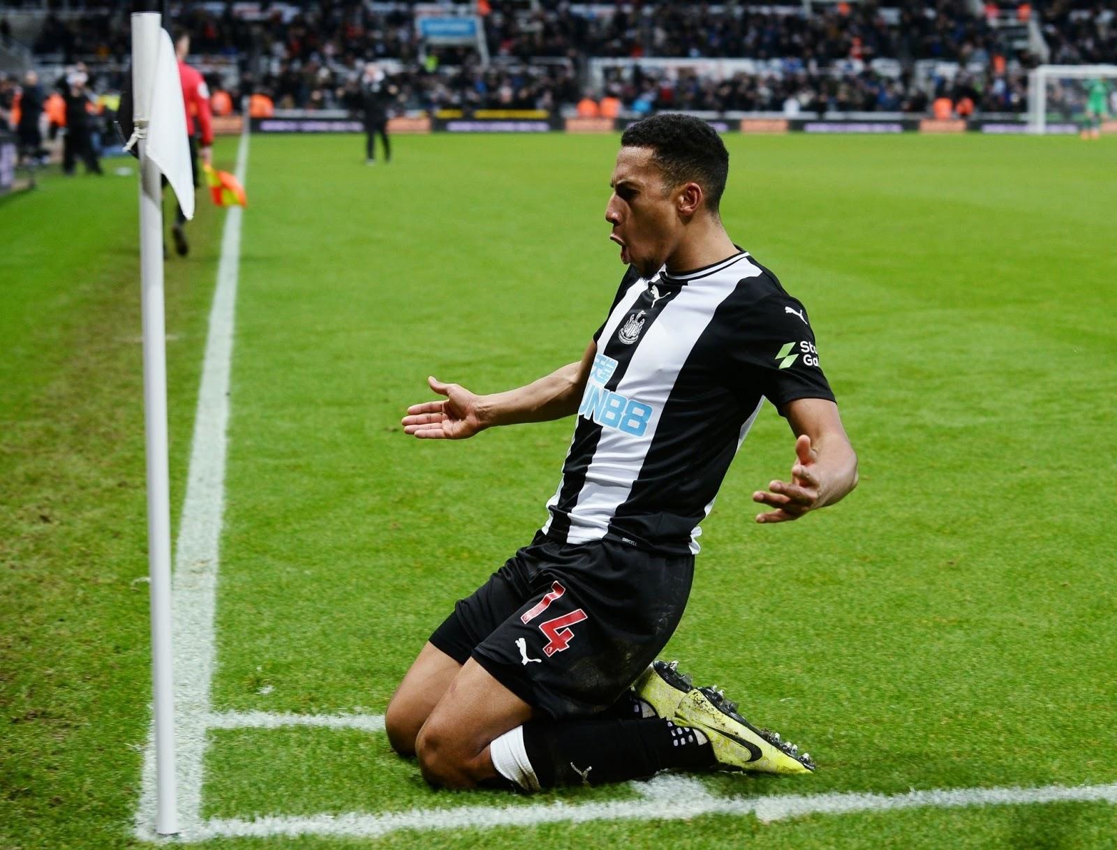 Newcastle 1-0 Chelsea: Late goal ends Blues unbeaten run as James off injured