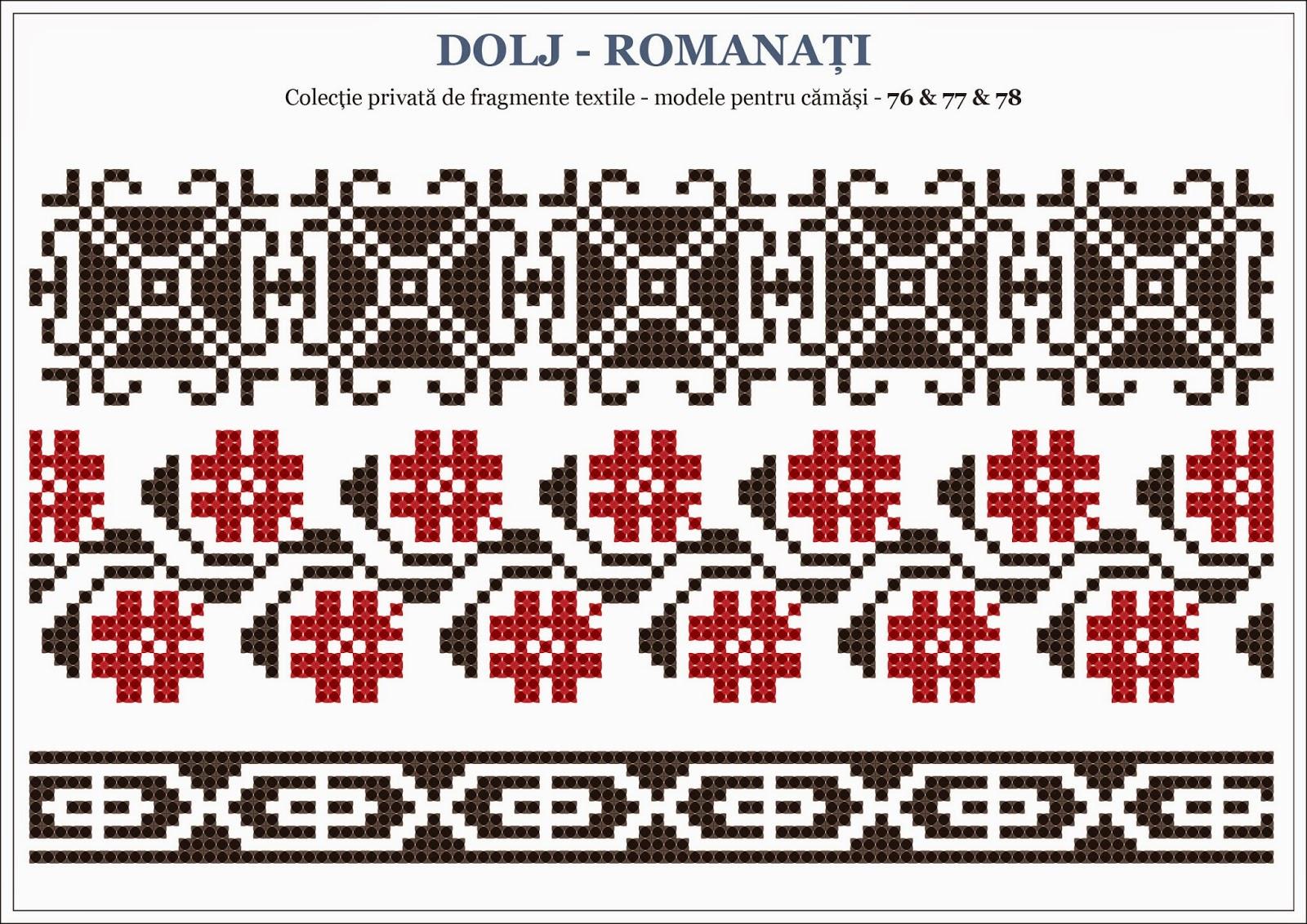 Semne cusute octombrie 2014 - Beautiful romanian folk motifs ...