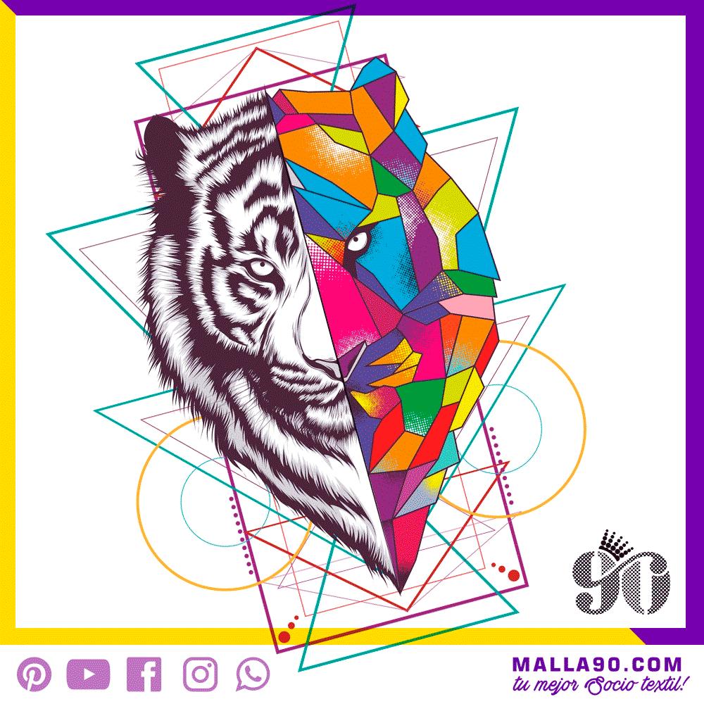 Tigre Print para impresión