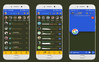 Google Theme For YOWhatsApp & Fouad WhatsApp By Leidiane
