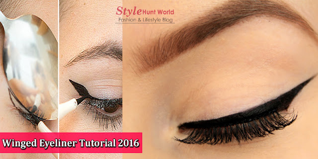Winged Eyeliner Tutorial 2016 | How To Get The Perfect Winged Eyeliner