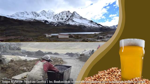 Bioadsorción de residuales de mina mediante el uso de residuos de levadura de cerveza