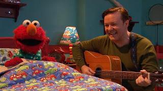 Ricky Gervais sings Celebrity Lullabies for Elmo. Sesame Street Alphabet Songs