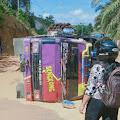 Beberapa Menit Terperangkap di Lobang, Dump Truck TBS Terbalik Lagi di Anik Dinggir