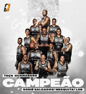 LSB Campea Taça Guanabara de 2021