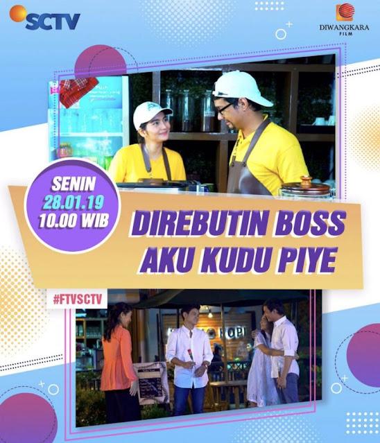 Daftar Nama Pemain FTV Direbutin Boss Aku Kudu Piye SCTV Lengkap
