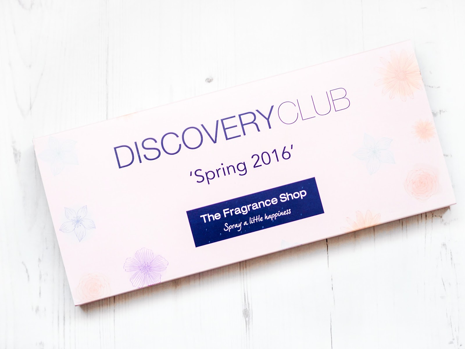 The Fragrance Shop Discovery Club Spring 2016