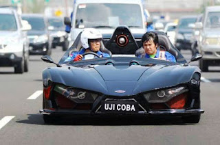 Lowo Ireng Supercar Test Drive
