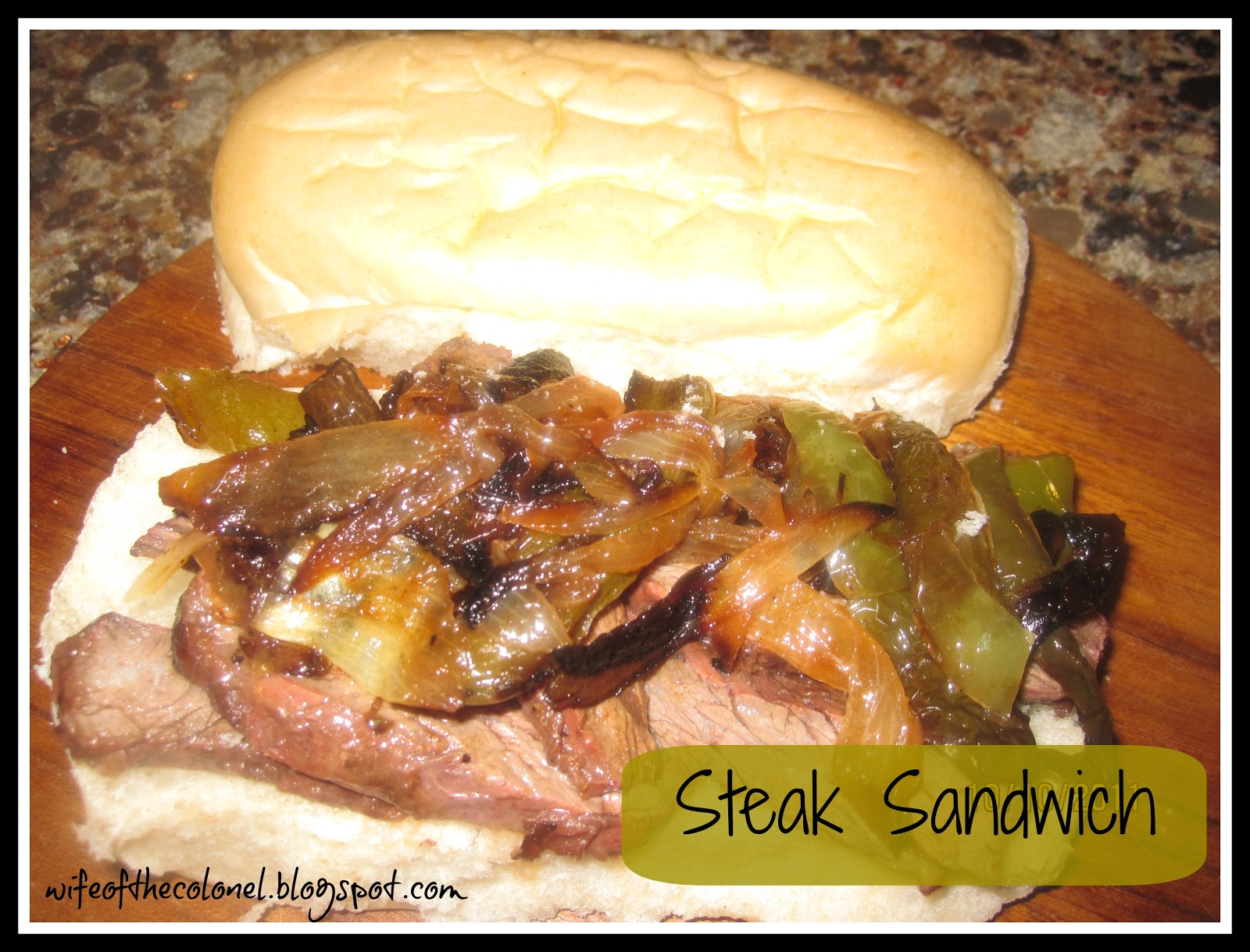 Steak Sandwich... - Walking on Sunshine