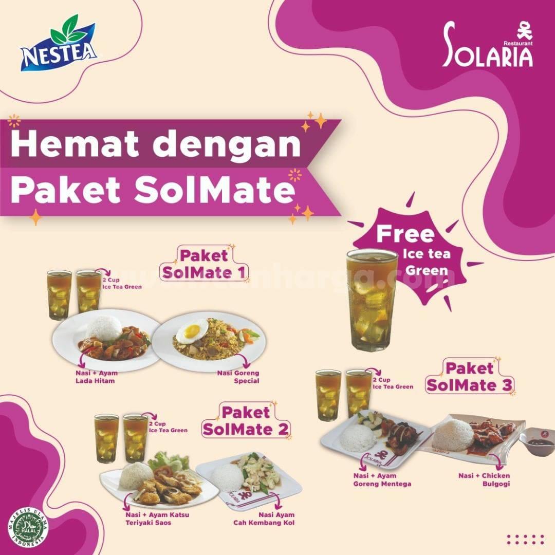 Promo Solaria Paket Solmate Makan Hemat Berdua