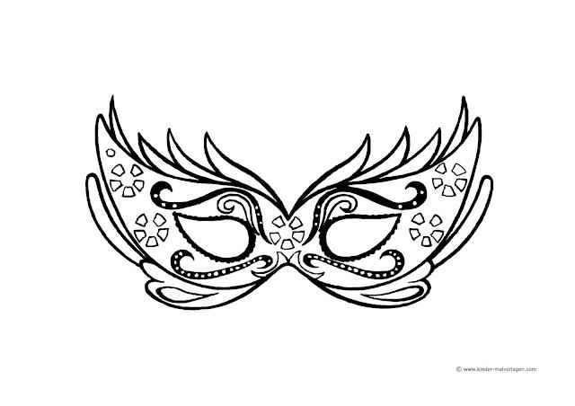 malvorlagen masken für kinder | coloring and malvorlagan