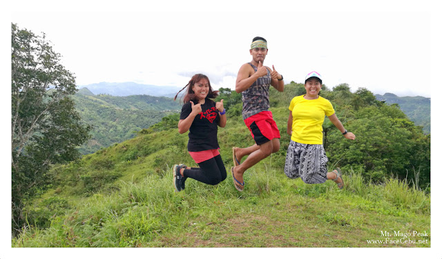 Jump Shot at Mt. Mago Peak
