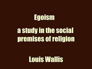 Egoism (1906)  by Louis Wallis