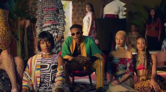 Wizkid Come Closer feat. Drake Second Video (Dir. by Alan Ferguson)