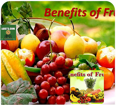 Nutritional health benefits of fruits to the body