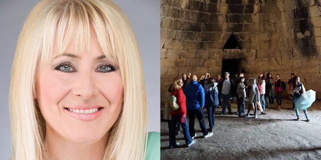 Σοκαρίστηκε η δημοσιογράφος Μάγδα Παπαγιάννη από την εικόνα στο θολωτό τάφο του Ατρέα στις Μυκήνες