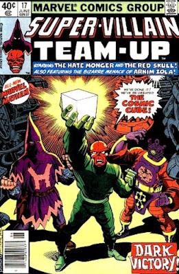 Super-Villain Team-Up #17, Red Skull, Hatemonger and Armin Zola