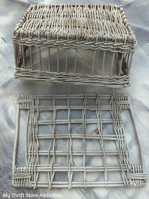 upcycled storage basket