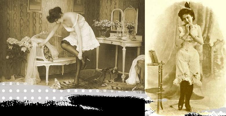 historia damskich majtek