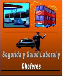 La Seguridad y Salud Laboral en los choferes de transporte público  1