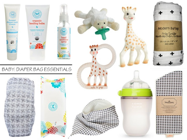 Nicole S Guide To Style Baby Diaper Bag Essentials